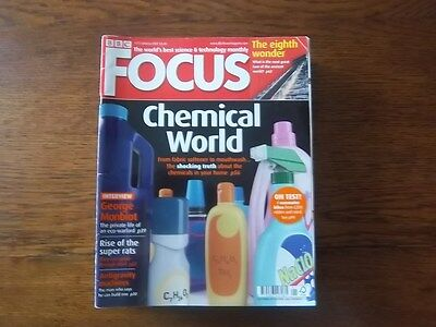 BBC Focus Magazines Collection of 2007 - 13 issues