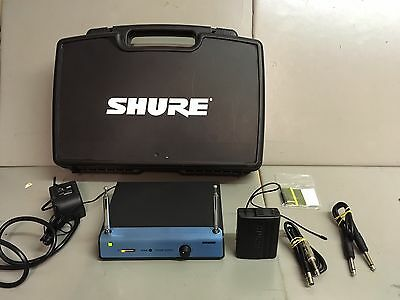 Shure T4A-AQ VHF Diversity Receiver And Shure T11-AQ Body Pack Transmitter