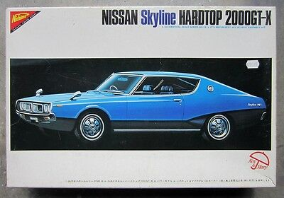 NISSAN SKYLINE C110 2000 GT 1/20 plastic model kit NICHIMO Ken Mary DATSUN 240K