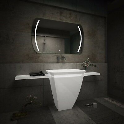 LED Illuminated Bathroom Mirror L67 | Bluetooth Speaker | Switch |