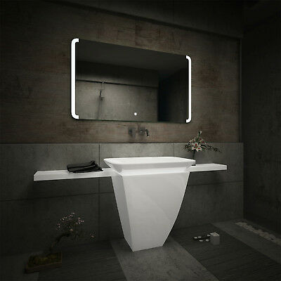 LED Illuminated Bathroom Mirror L72 | Bluetooth Speaker | Switch |