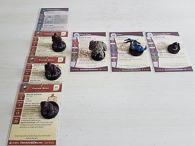 Dungeons and Dragons miniatures - 6 monster miniatures