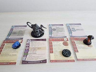 Dungeons and Dragons miniatures - 4 monster miniatures