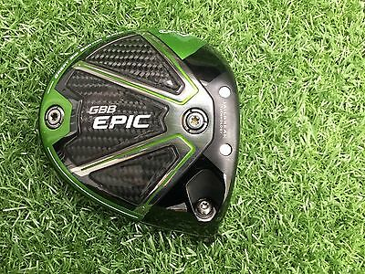 Callaway Epic Sub Zero 9 Degree Driver Head Excellent