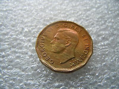 1943 Canada 5 Cents War/Tombac Gem Unc Red