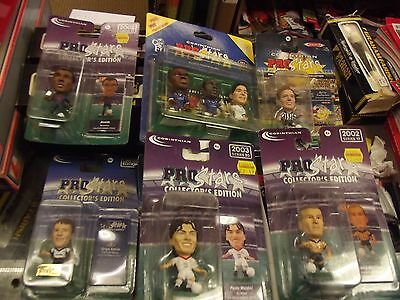 Corinthian Selection Of 6 Unopened Packs Including Chelsea 3 Pack