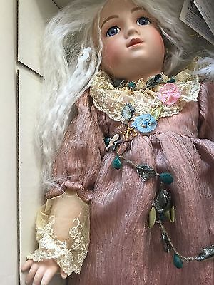 THUILLIER CELESTE Angel Doll signed BARBARA OTA  NRFB Numbered BO-A11T