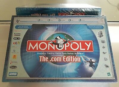 New Sealed Monopoly The .com Edition Board Game