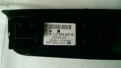 Golf Driver Electric window & locking switch Mk4 3 door 1J3959857B