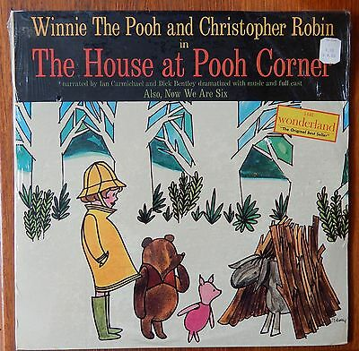 WINNIE THE POOH A.A. MILNE House at Pooh Corner & Now We Are Six LP Sealed 1961