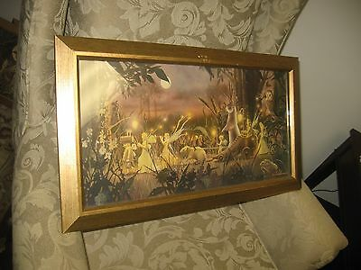 Summer Fairy Procession Framed Print by David Delamare