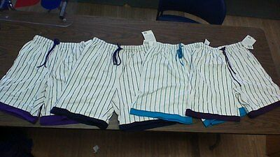 Vintage Russell Athletic Pin Stripe shorts ALL SIZES MADE IN THE USA