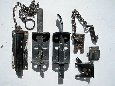 Lot of vintage latches for gate or door ~ eastlake latch
