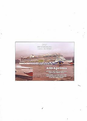 2015  Postcard Ofship The Aida Prima