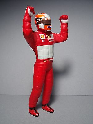 Figurine  1/18  Schumacher  Pilote  F1  Winner  Ferrari  Vroom  Unpainted