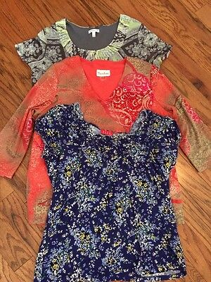 Women's Size Large Lot Of Tops