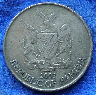 NAMIBIA - 1 dollar 2002 KM# 4 Independent Republic (1990) - Edelweiss Coins