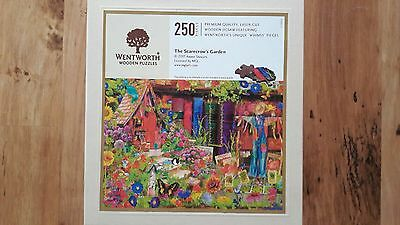 Wentworth Wooden Jigsaw With Whimsy Pieces 250 - The Scarecrow's Garden