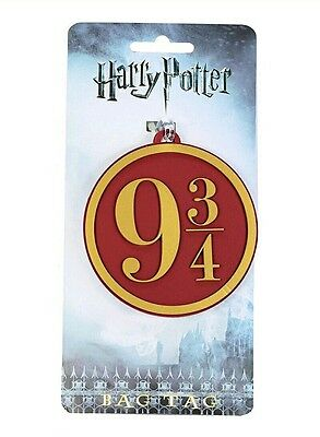Harry Potter 9¾ Novelty Holiday Travel ID Suitcase School Bag Luggage Tag Gift