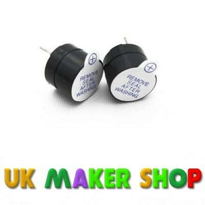 5V Active Buzzer Packs of 1, 2 or 5 Continuous Tone