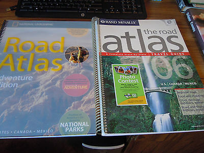Rand McNally + National Geographic Road Atlas