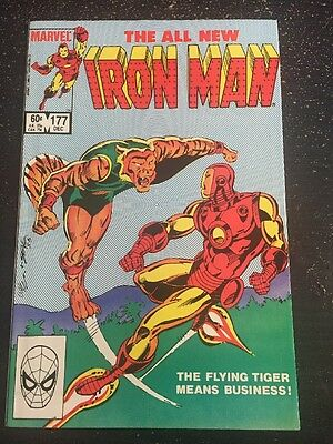 Iron Man#177 Incredible Condition 9.2(1983) Cool!!