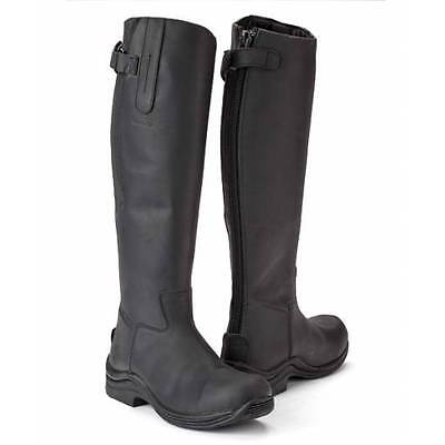 Toggi Calgary Long Leather Country Riding Boots RRP £109.00