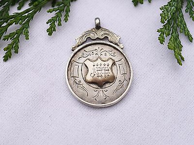 Hallmarked Sterling Silver Winners Medal Division Ii 1922-23