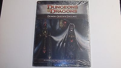 4th Edition Dungeons & Dragons Demon Queen's Enclave WOTC Module D&D New Sealed