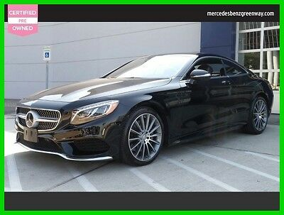 2016 Mercedes-Benz S-Class S 550 2016 S 550 Used Certified Turbo 4.7L V8 32V Automatic All Wheel Drive Coupe