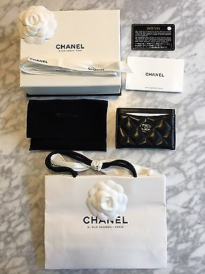 Authentic Chanel Card Case/Holder