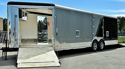 New & Used Enclosed Car/Snowmobile/Motorcyc/ATV Trailer
