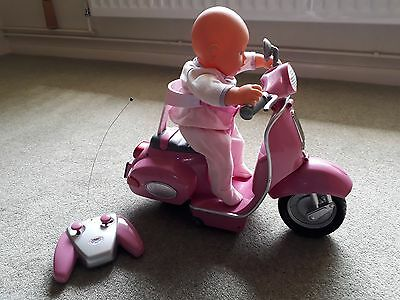Baby Born Remote Control City Scooter