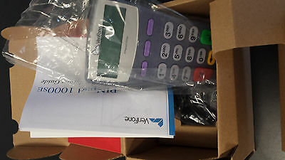 Verifone PINPad 1000SE - New in Box.  6ft coiled cable