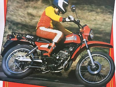 Cagiva Sxt 125 Trial Bike - Original 3 Page Motorcycle Roadtest