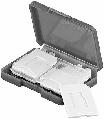 Memory card storage box perfect fit for up to 4x SD/microSD/MMC cards