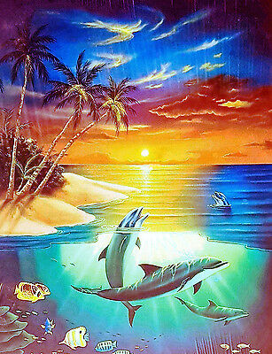 Dolphin Island - 500 Piece Animal Jigsaw Puzzle By SunsOut - New & Sealed