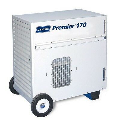 LB White Premier 170 Ductable Tent/Construction Heater, Propane 170,000 BTU/HR