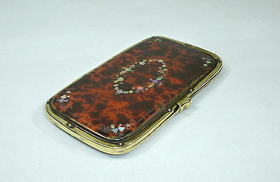 Rare Glasses Case around 1860 France Mother of Pearl