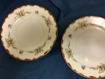 2 Vintage Harmony House 7 1/2 in salad plates