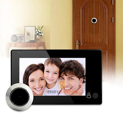 4.3 inch LCD Digital Peephole Viewer 145° Door Eye Doorbell Video Camera Monitor