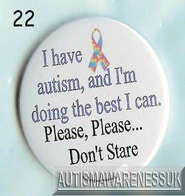 This is Asperger I am doing the best I can Aspergers Badges
