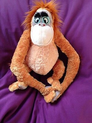 Disney Store Plush King Louie Jungle Book Soft Toy Orangutang approx 16""