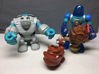 (AR) PLANET HEROES LOT OF 2 ACTION FIGURES W/Accessories 2006-?