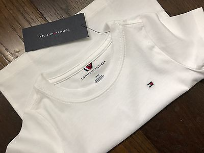 Tommy Hilfiger Baby Boys Brilliant White T-shirt 18 Months New with Tags