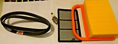 TUNE UP AIR  FILTER  KIT BELT Spark plug Fits STIHL TS420