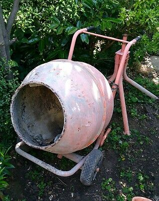 cement mixer and stand