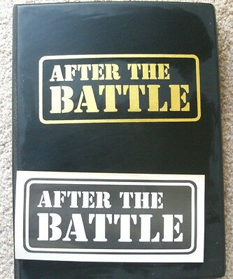 After The Battle Magazines Issues 1-10 In Publishers Binder Normandy, Arnhem Etc