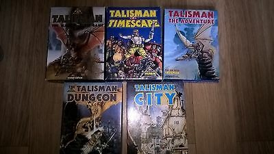 Talisman 2nd Edition | Timescape | Dungeon | City | The Adventure | All Boxed