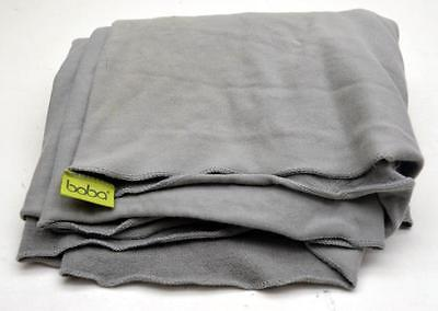BOBA Baby Carrier Infant Toddler Wrap Sling Gray Cotton Blend